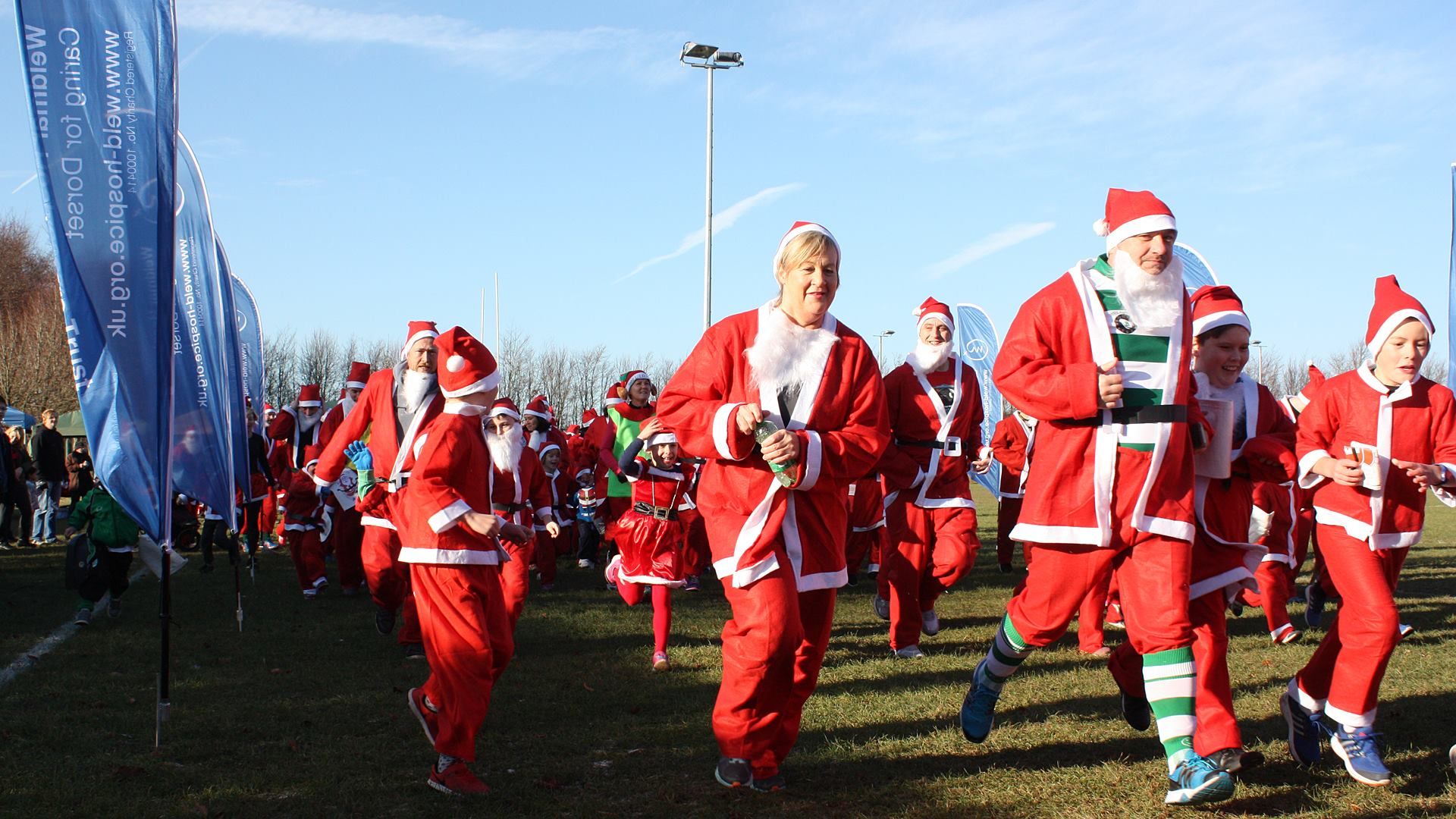 Weldmar's Family Santa Fun Run