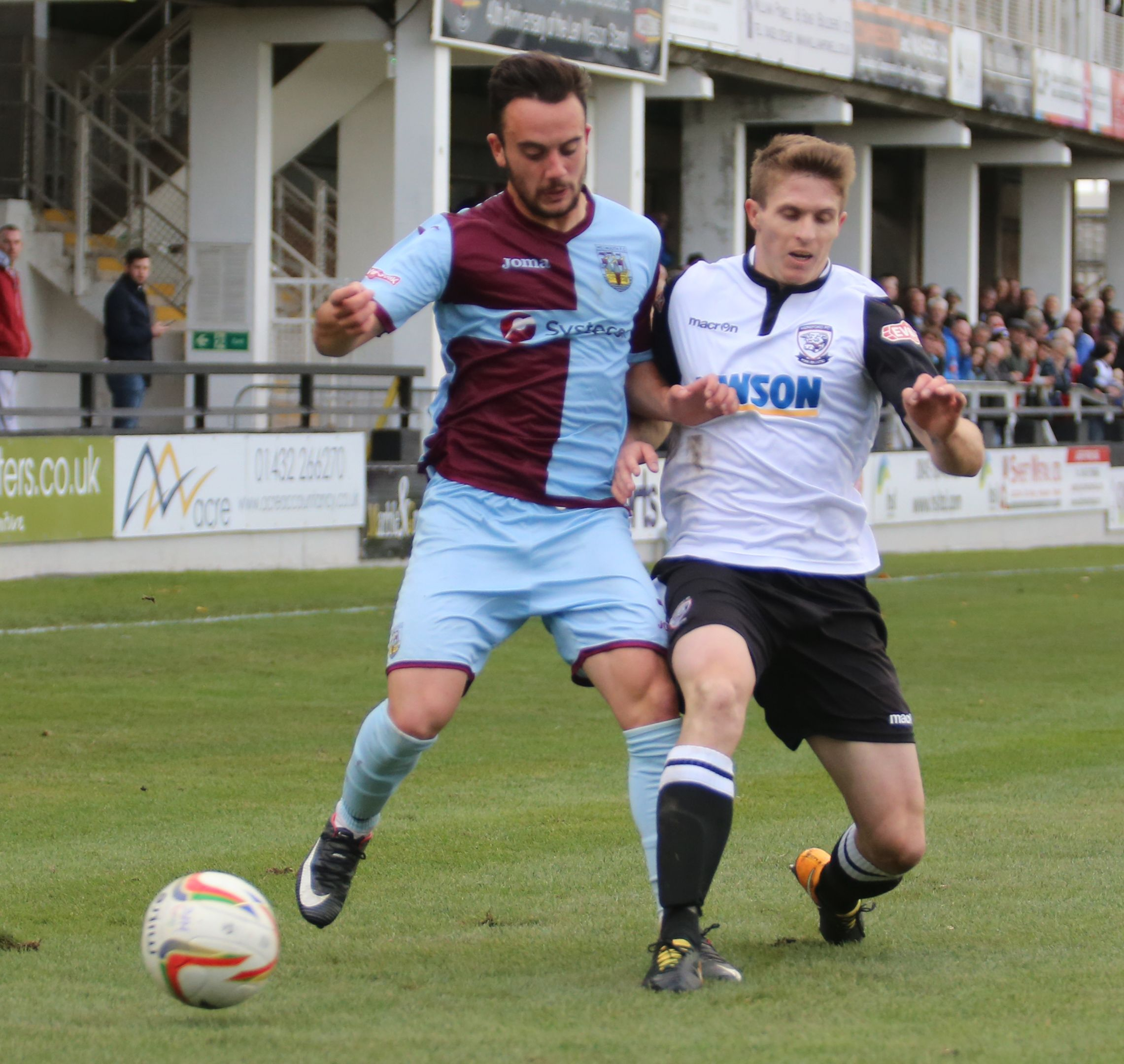 RETURN: Antonio Diaz returns to the Terras after a spell last season Picture: MARK PROBIN