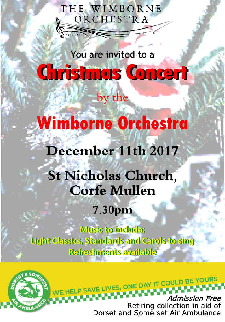 The Wimborne Orchestra Christmas Concert