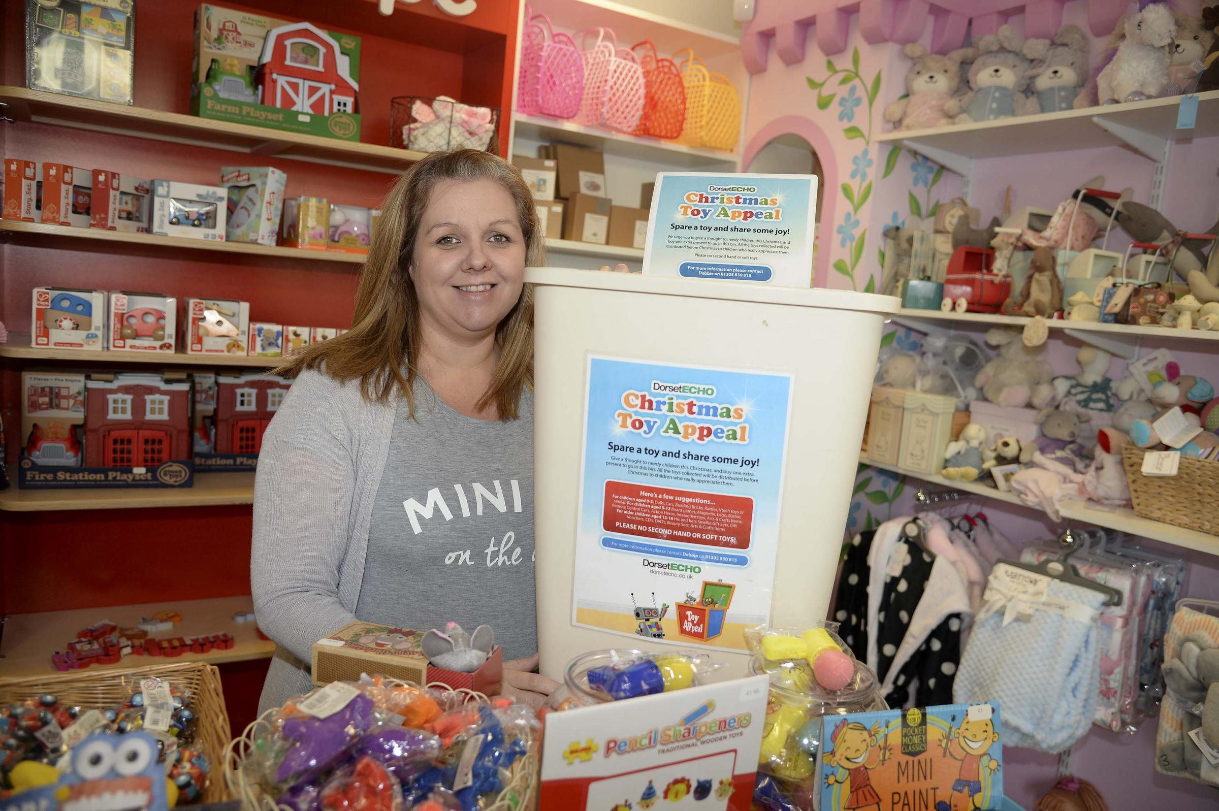 Boo's Toy Shop owner, Charlotte Polley Picture: Finnbarr Webster