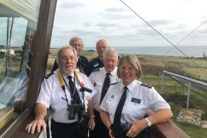 Looking back at the courageous work of Portland Bill Coastwatch volunteers