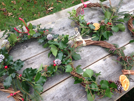 Festive Wreath Workshop with Tracy Standish