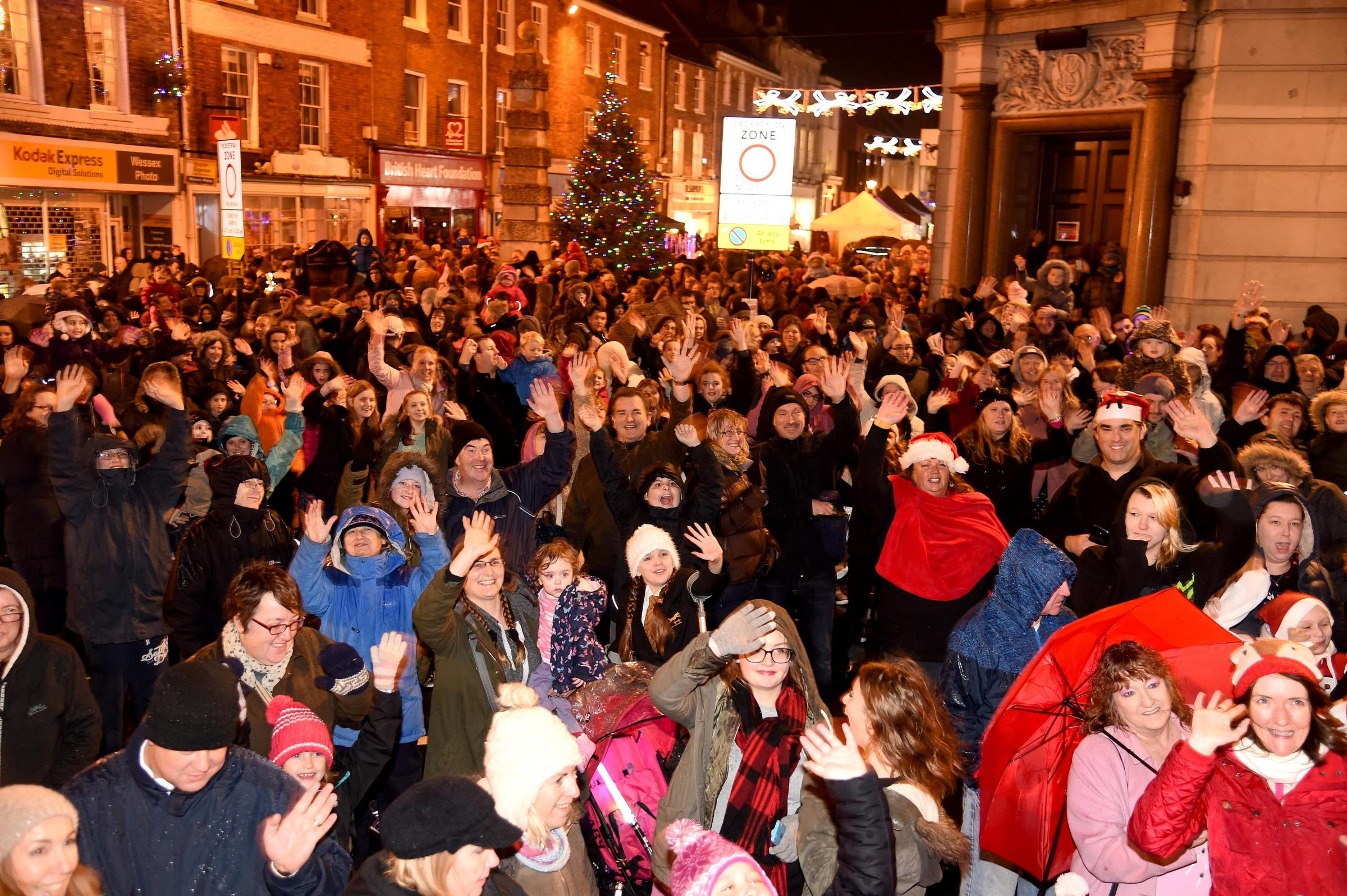 GREAT NIGHT AHEAD: It's Dorchester Christmas Cracker tomorrow night