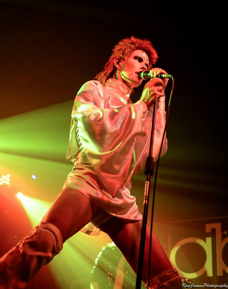 JUST THE BEER LIGHT TO GUIDE US: Absolute Bowie are at Weymouth Pavilion next Friday, December 29Picture: Kris James Photography