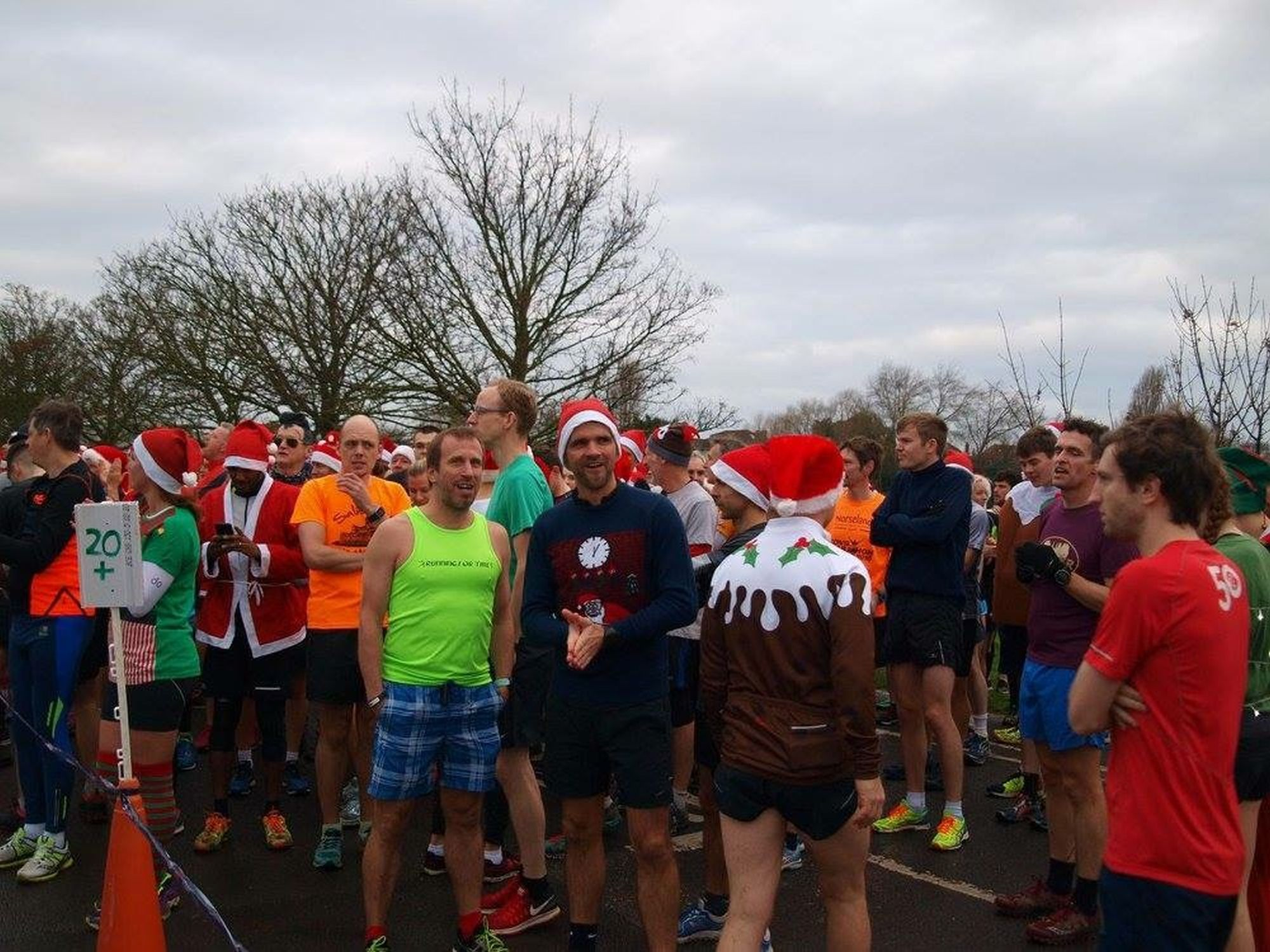SEASONAL FUN: Weymouth parkrun on Christmas Day