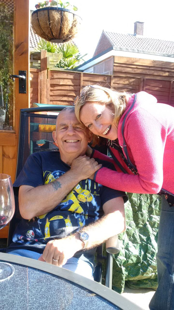 MUCH MISSED: Robbie Dunster and his wife Sue