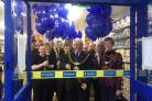 Customers at the launch of the new Poundstore in Weymouth