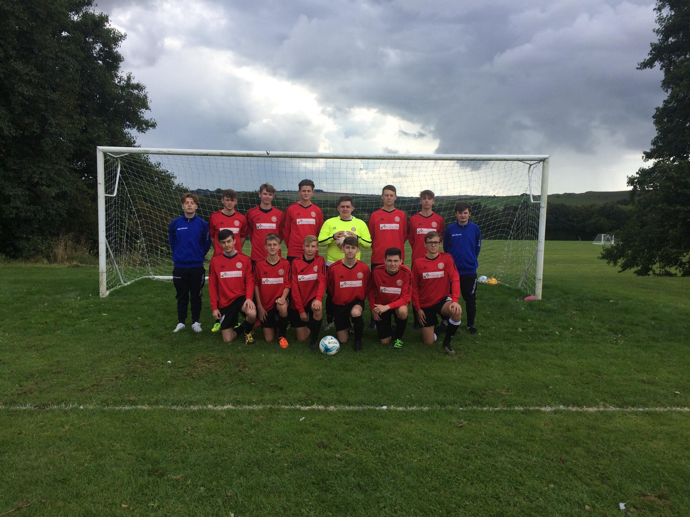 TABLE TOPPERS: Piddlehinton Reserves won 4-1 against title rivals Verwood Town