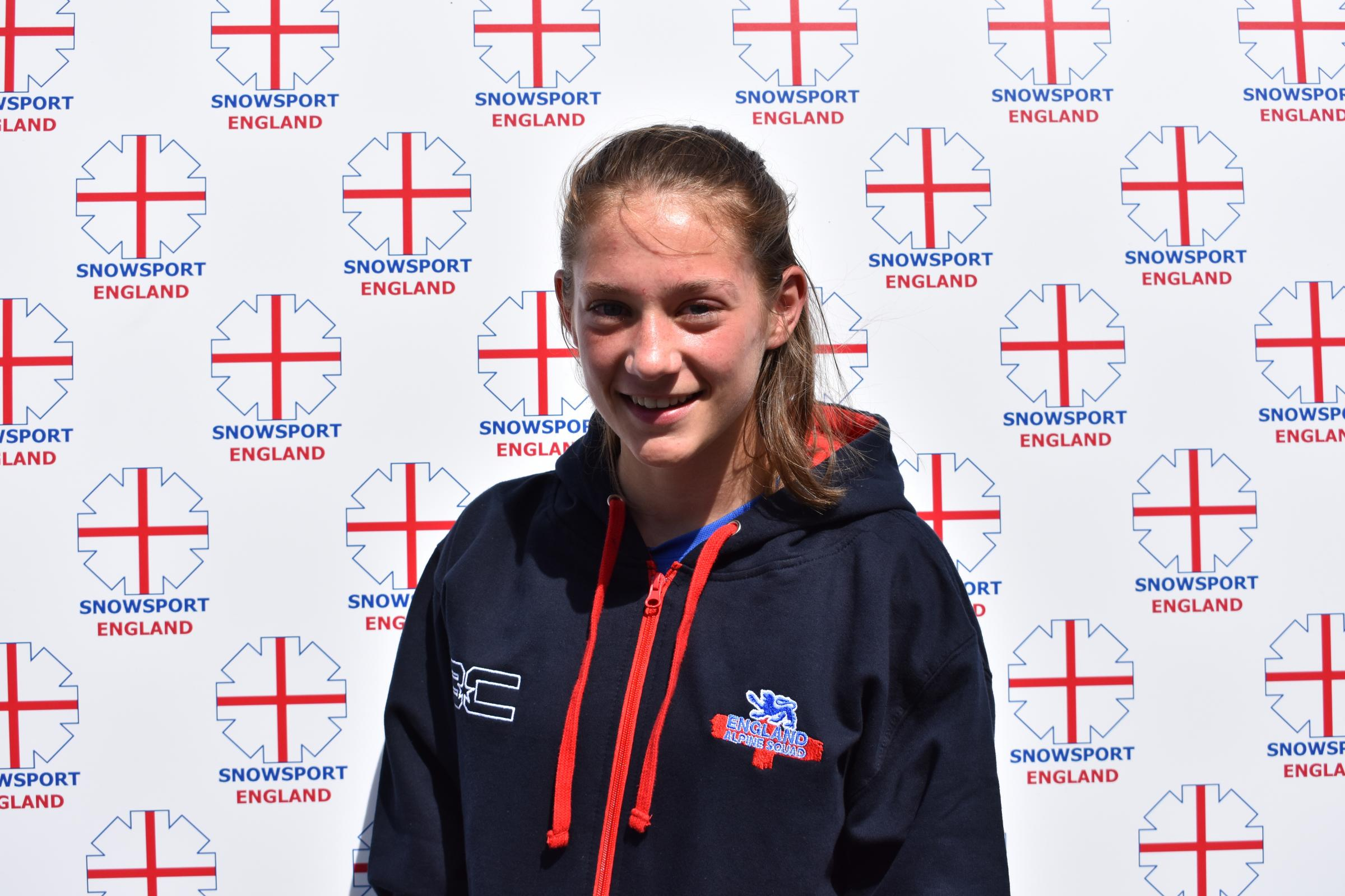 EXCITED: Bonnie Davenport cannot wait for the English Alpine Championships