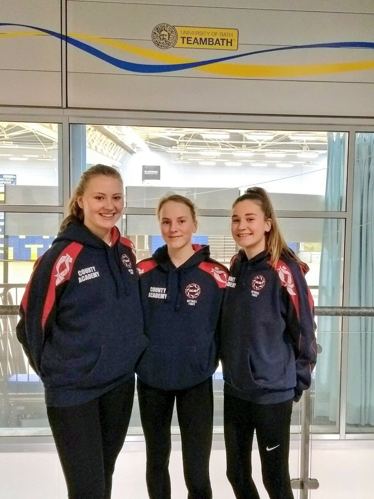 TRIALLISTS: Skyla Erskine, Tia Chaloner and Jaimee Browne (l-r) and Carla Wood are trialling with Team Bath