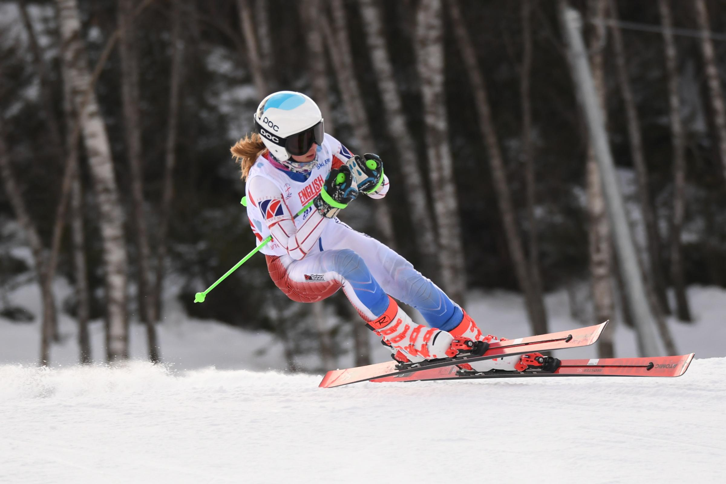 ON THE SLOPES: Weymouth's Bonnie Davenport Picture: RACER READY