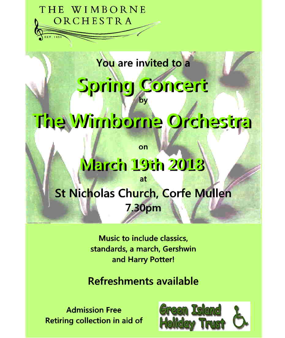 The Wimborne Orchestra Spring Concert