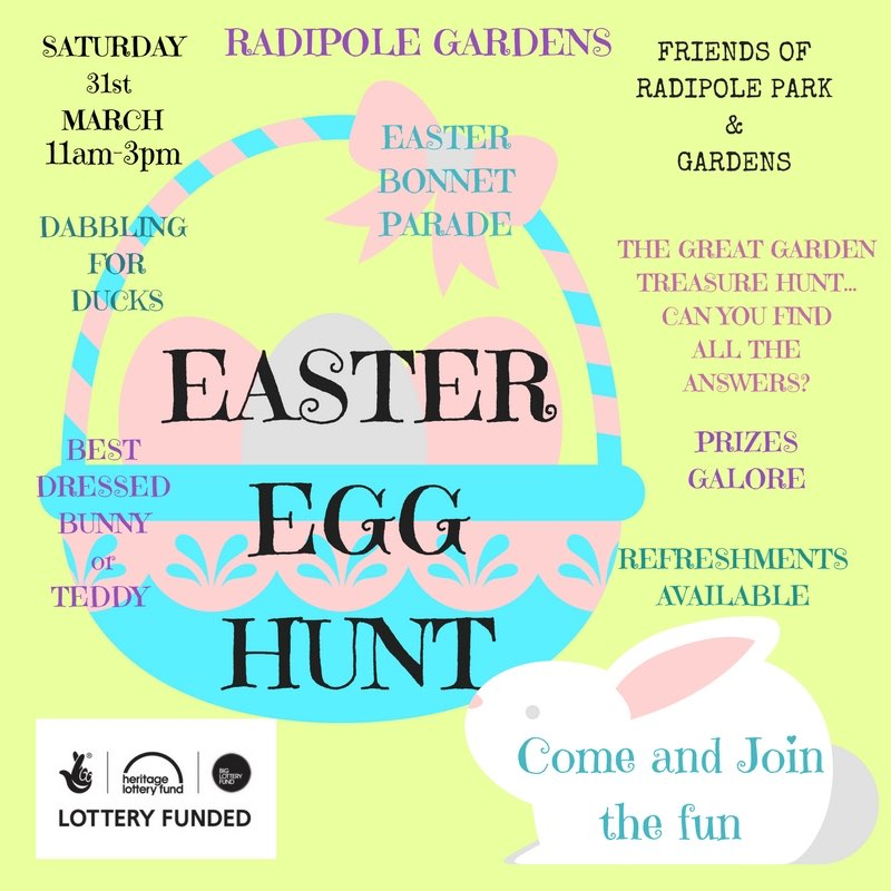 Radipole Gardens Easter Egg Hunt