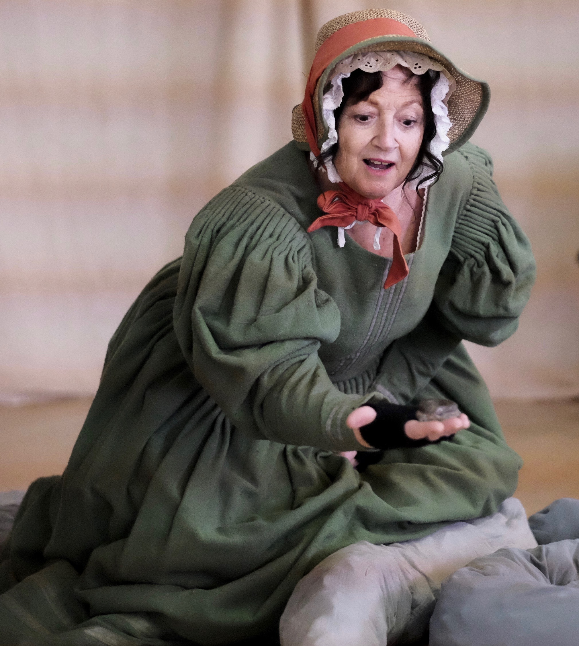 Jane McKell in Mary Anning's Fossil Depot
