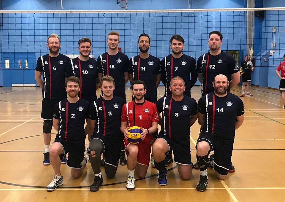 CHAMPIONS: The successful Weymouth Beach Indoor Volleyball Team, who are unbeaten so far