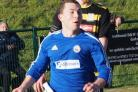 INJURED: Portland United's Alex Godfrey remains out       Picture: DORSET MEDIA SERVICE