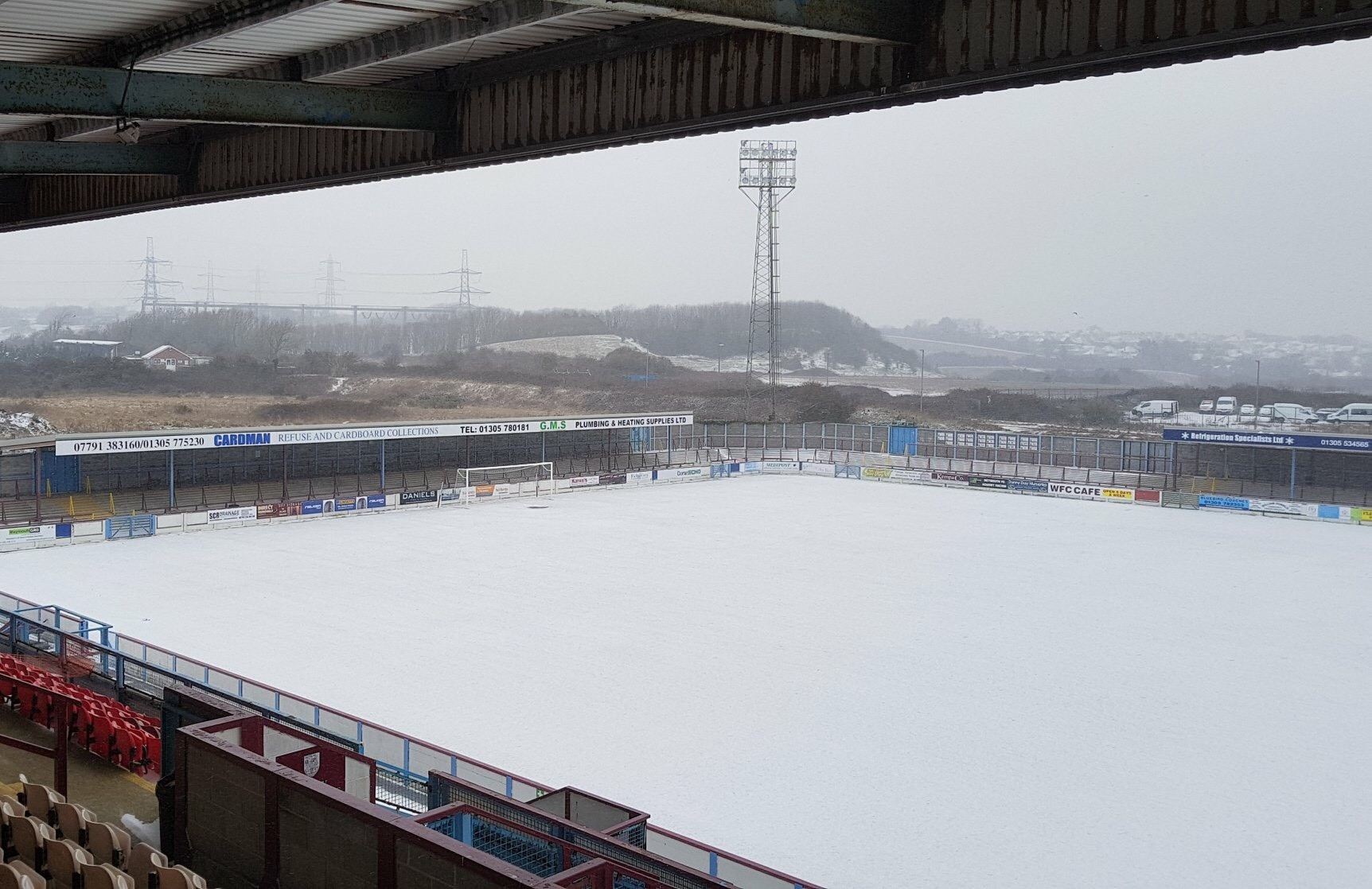 Football: Weymouth, Dorchester, Bridport, Dorset Premier League and Portland United matches postponed