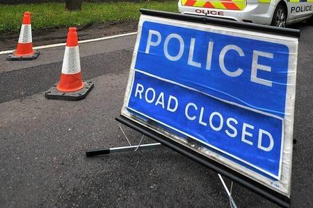 A31 closed following two-car crash