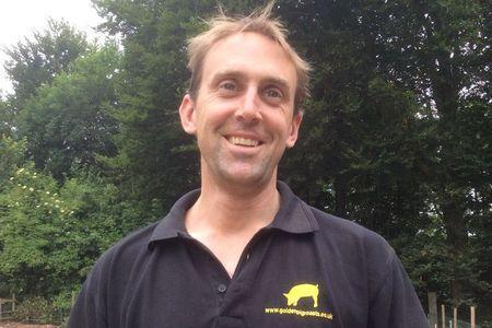Richard Tory, who helps run Charisworth Farm, a small family concern near Blandford