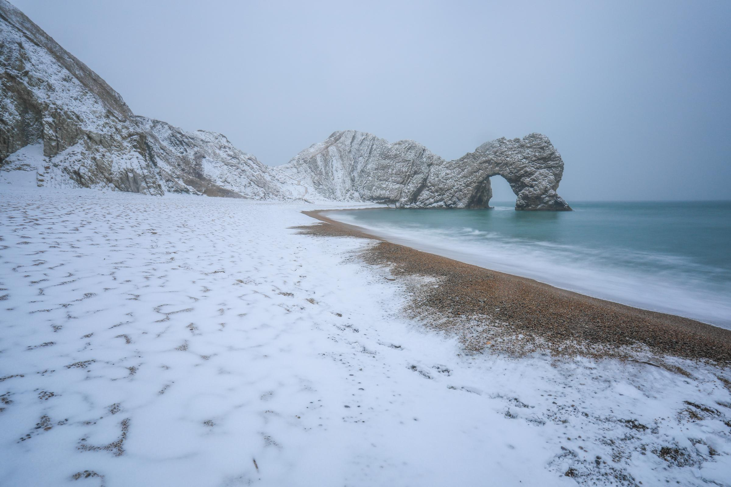 Durdle Door holiday park still closed as effects of big freeze drag on & Durdle Door holiday park still closed as effects of u0027Beast from the ...
