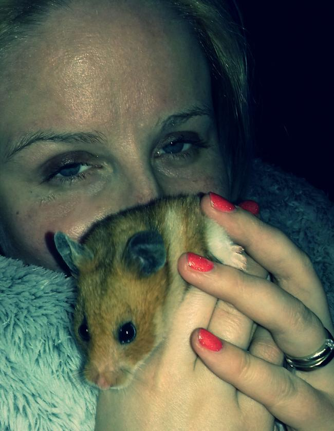 #netflixandnibble  Matilda the Hamster
