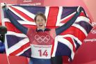 Lizzy Yarnold became the first Briton to successfully defend a Winter Olympics title despite needing surgery on a rare genetic condition (David Davies/PA)