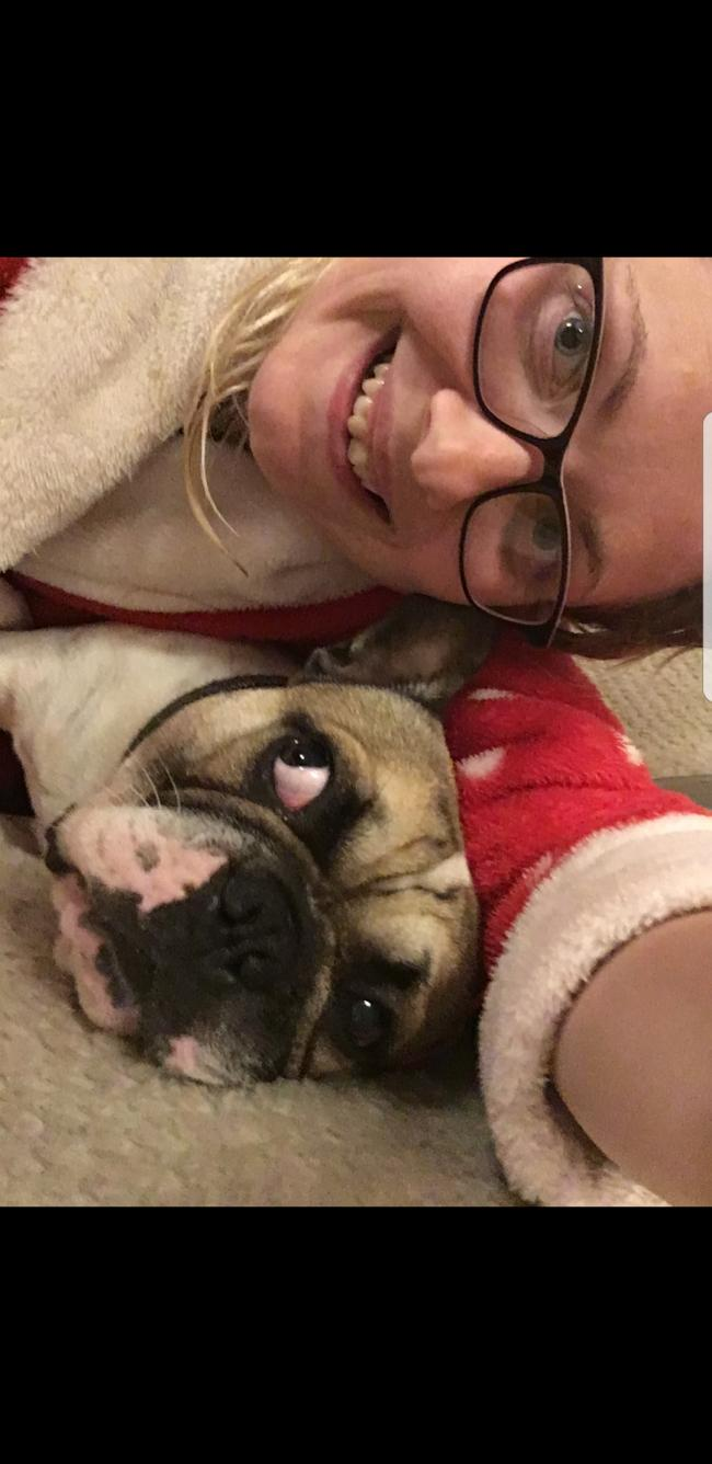 This is Jarvis, a 2 year old French bulldog, who has clearly had enough of mums selfies!!!