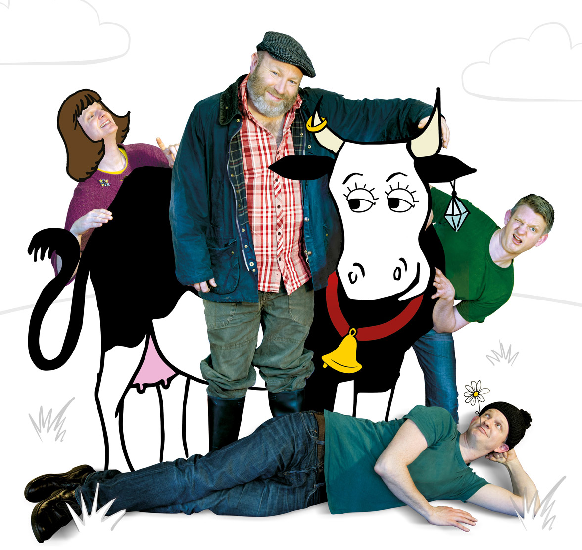 Living Spit: One Man & His Cow - A play, a pie and a pint!