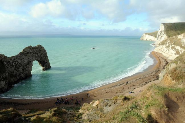 Girl who died in sea tragedy at Durdle Door was hit by 'freak wave