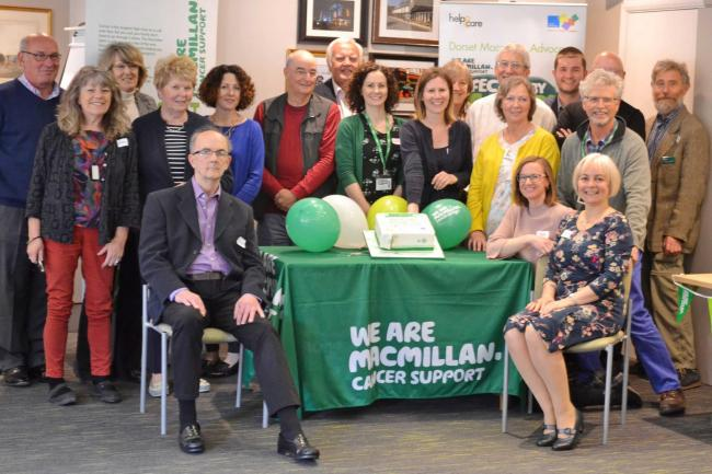 WELL DONE: Dorset Macmillan Advocacy