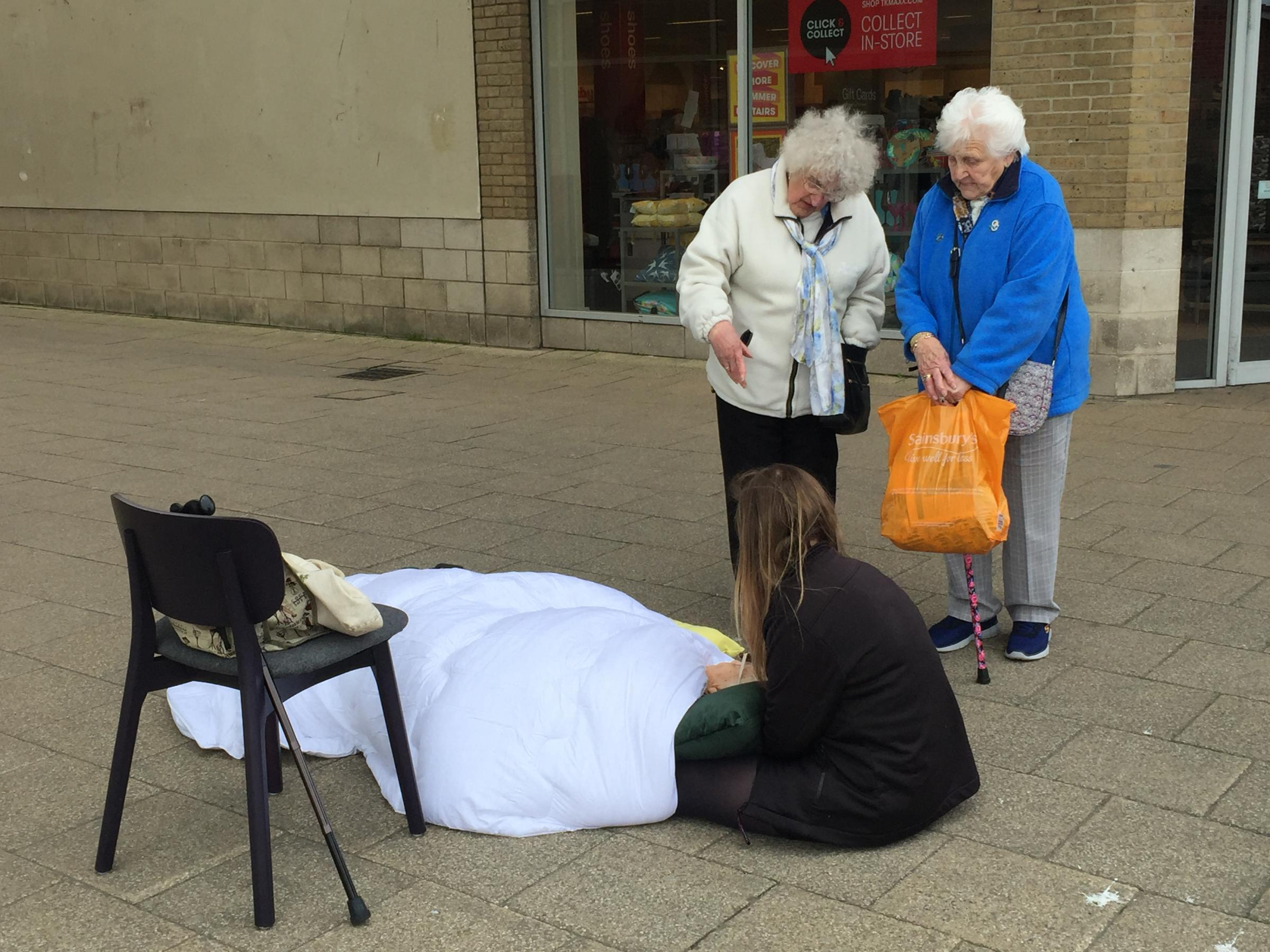 Image result for elderly woman waits 3 hours for ambulance in weymouth