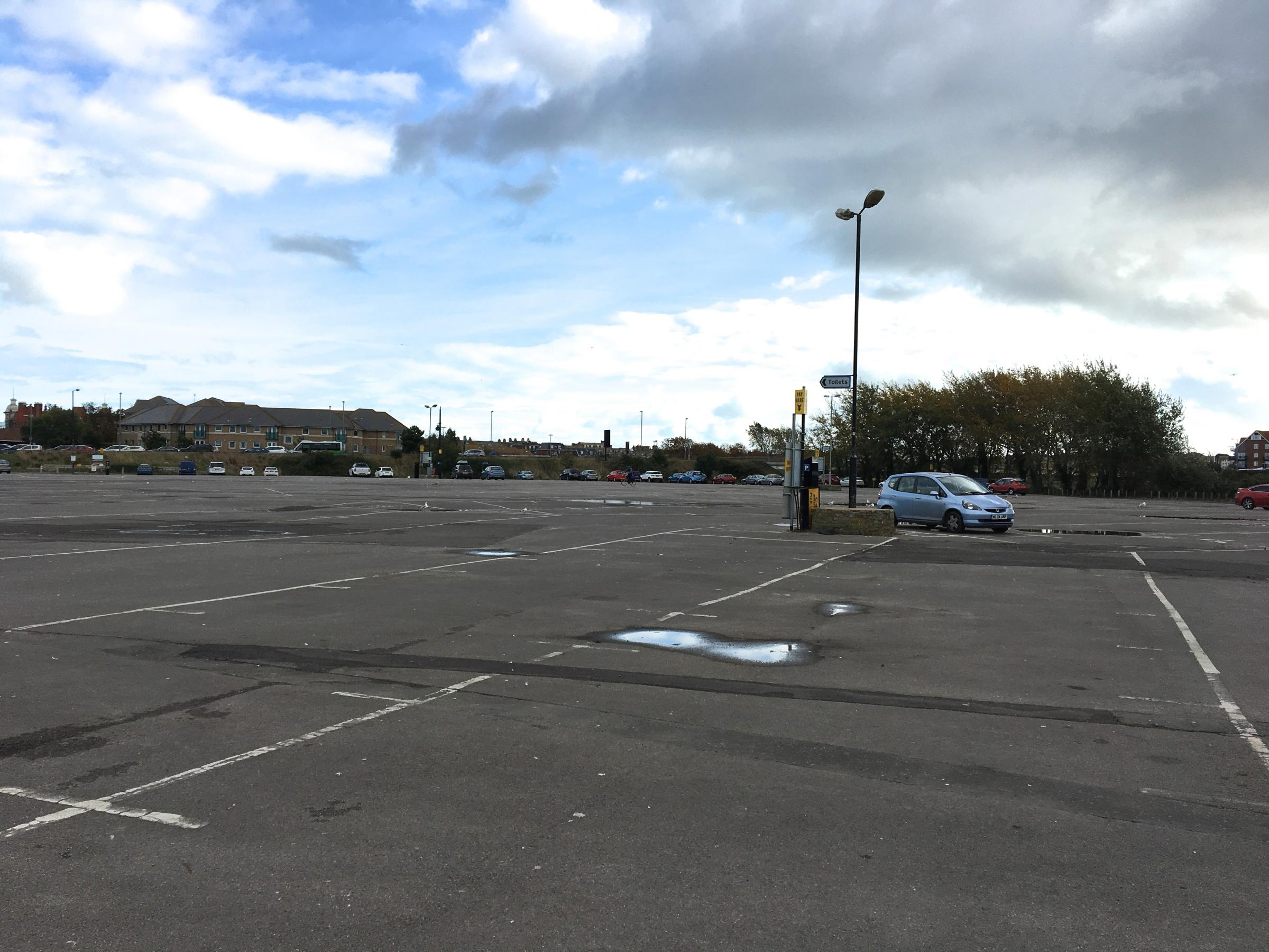The Swannery car park