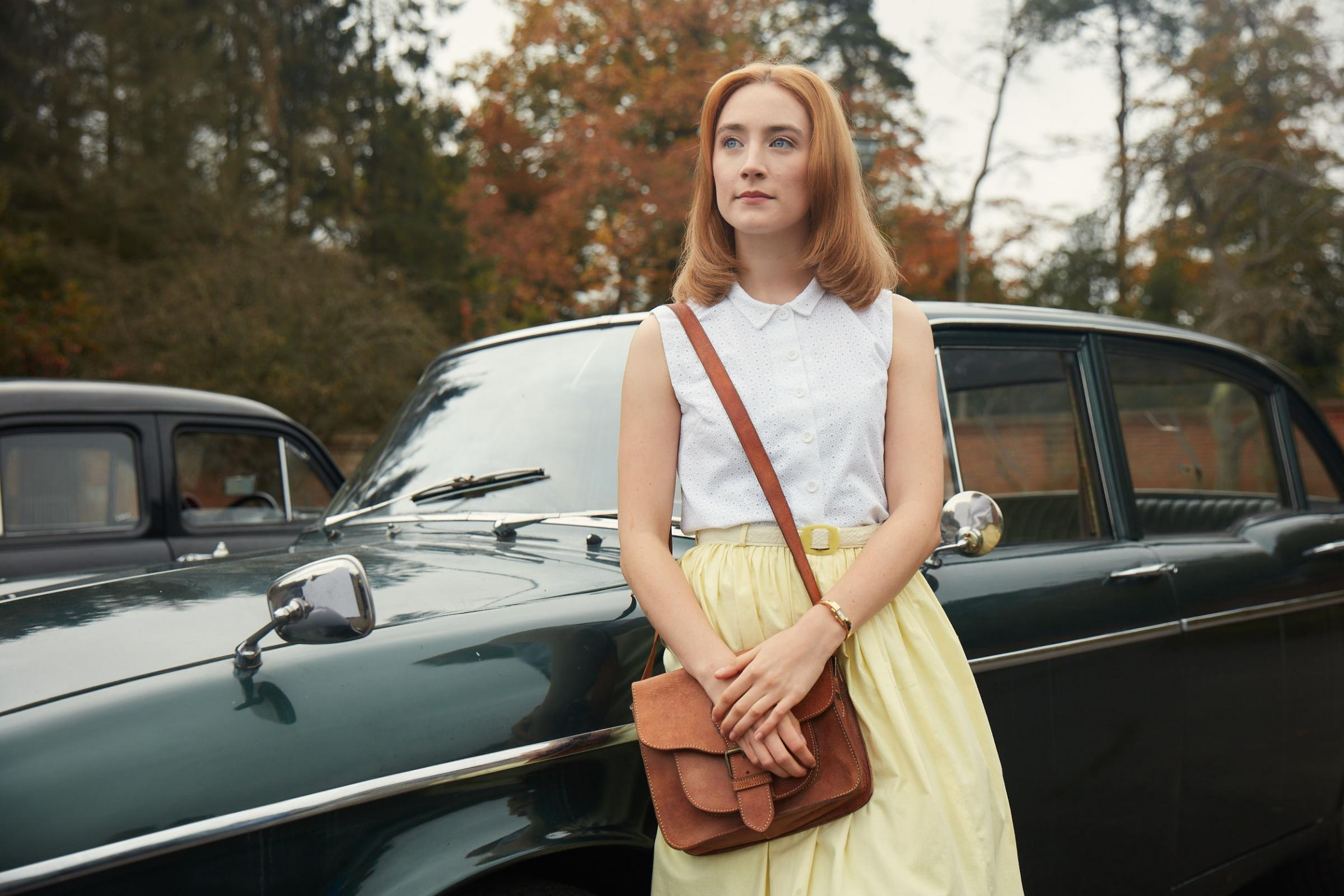 Undated film still handout from On Chesil Beach. Pictured: Saoirse Ronan as Florence Ponting. See PA Feature SHOWBIZ Film Chesil Beach. Picture credit should read: PA Photo/Lionsgate Films/Robert Viglasky. WARNING: This picture must only be used to accomp