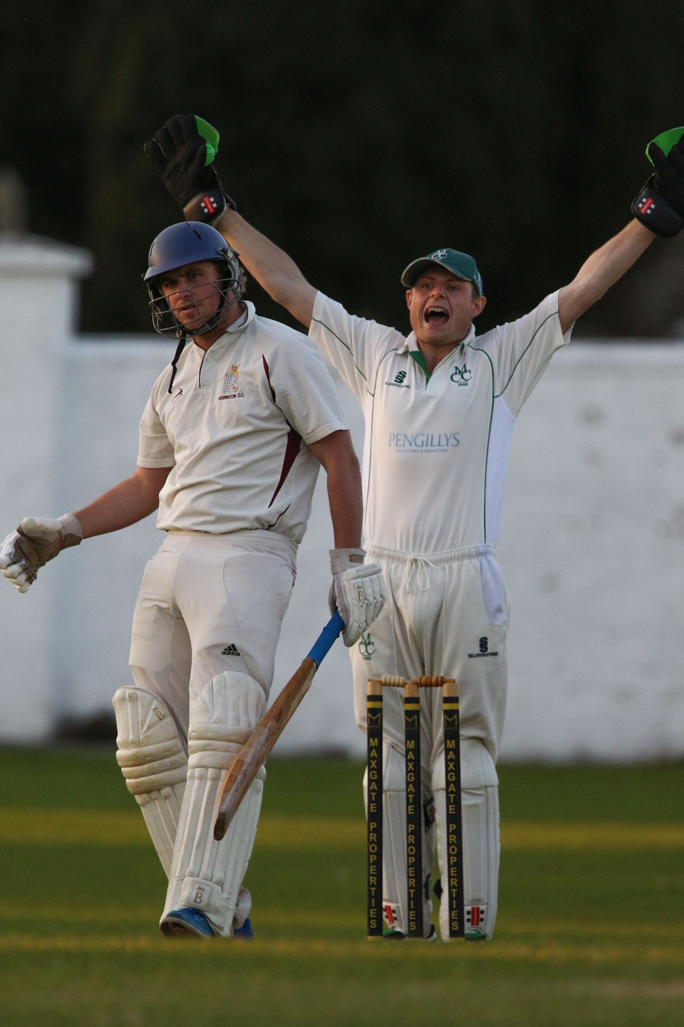 WELCOME BACK: All-rounder Simon Proffitt, left Picture: PHILLIP STANDFIELD