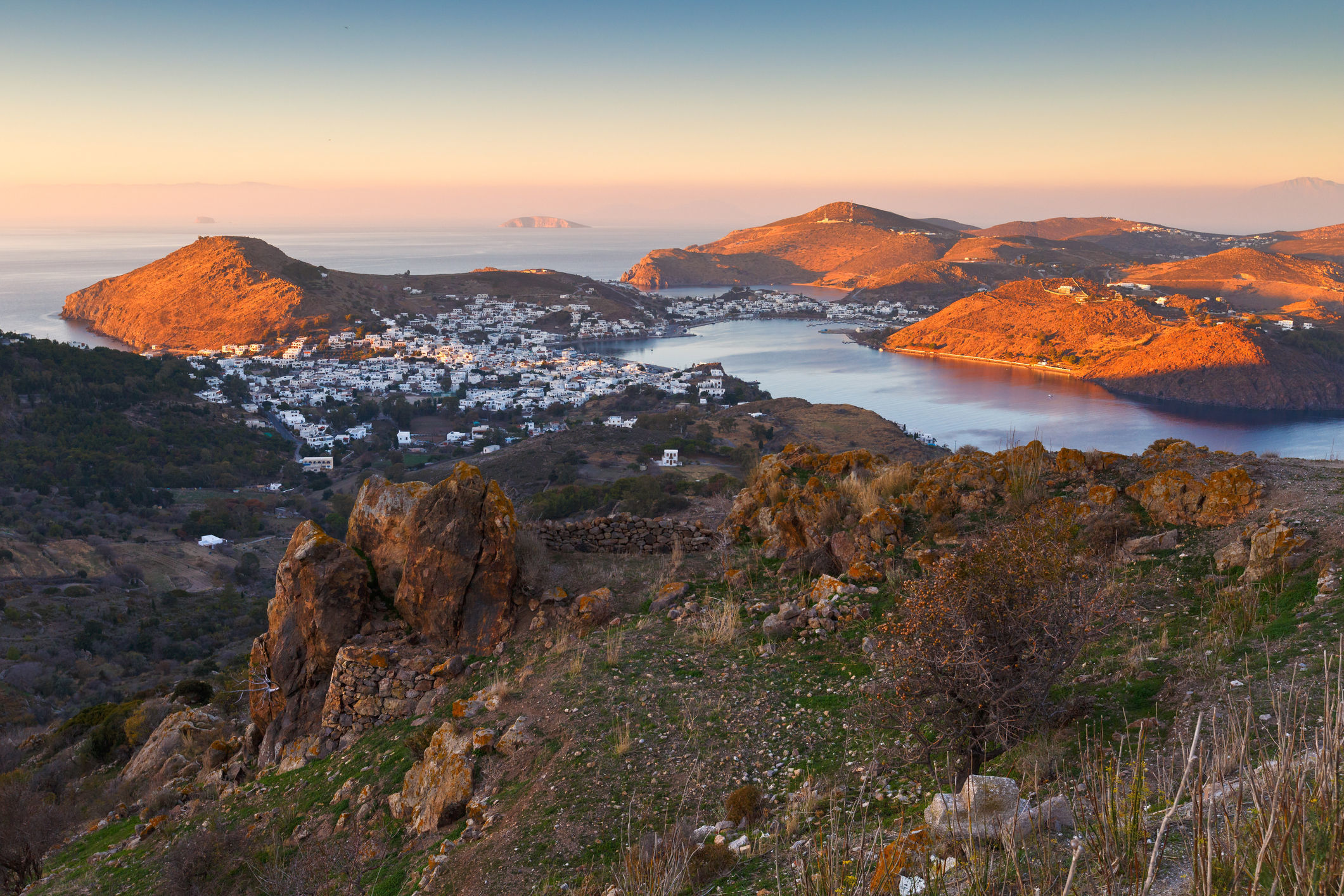Patmos. Picture: PA