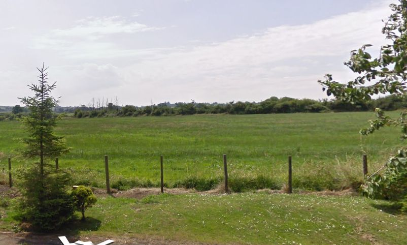 Land next to Lodden Lakes, Gillingham. Picture: Google Street View
