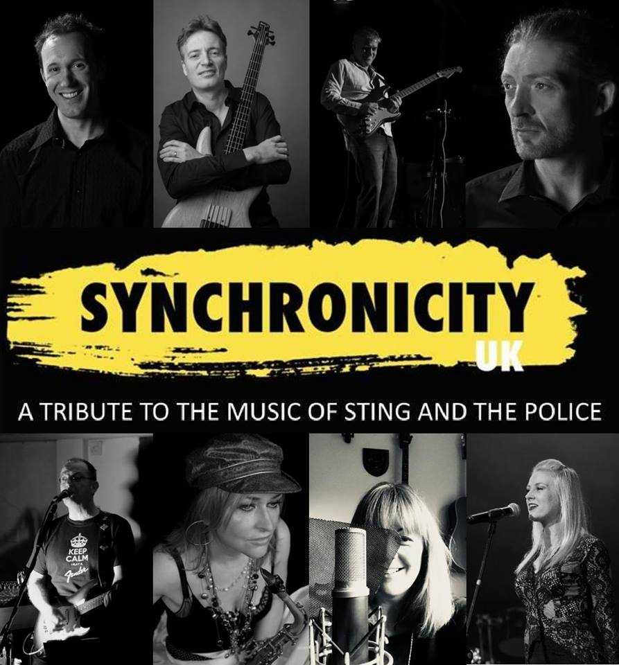 EVENIN' ALL:  Synchronicity UK celebrate the music of Sting and The Police at the Bay Theatre at Weymouth College on Thursday, June 14