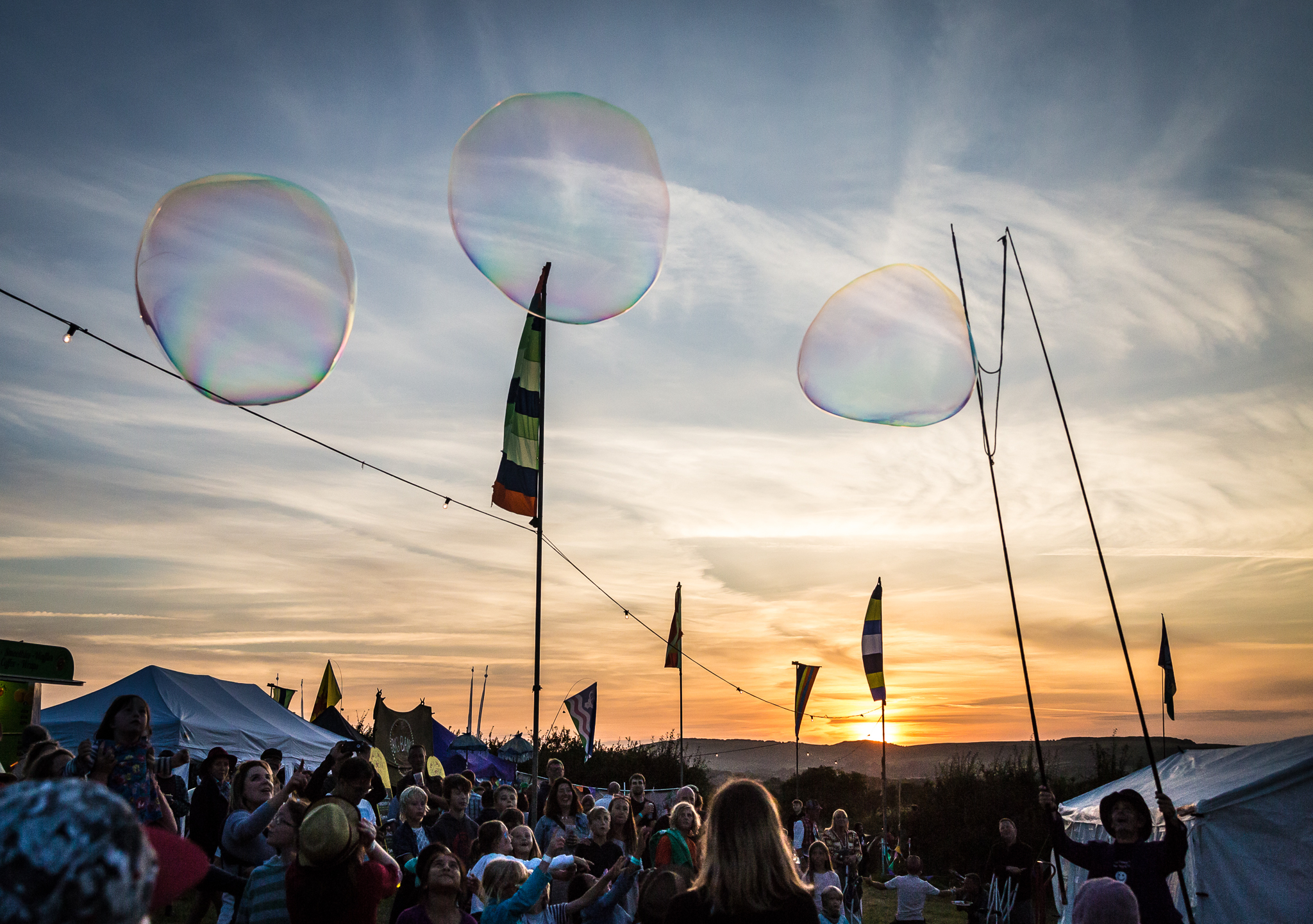 FAMILY FUN: Purbeck Valley Folk Festival Picture: Stephen Jones