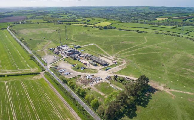 Iconic – the former BBC World Service base at Rampisham Down, Maiden Newton, West Dorset, is on the market at a guide price of £2.5M (supplied)