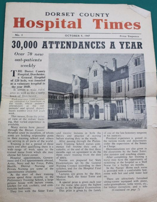 Dorset County Hospital Times