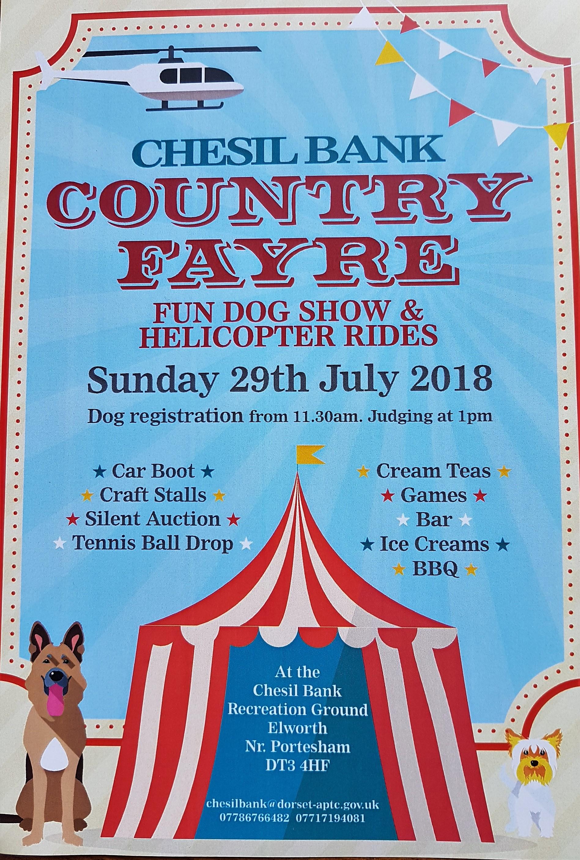 Chesil Bank Fayre & Dog Show