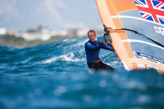 CLOSE: Emma Wilson narrowly missed out on a podium finish Picture: SAILING ENERGY/WORLD SAILING