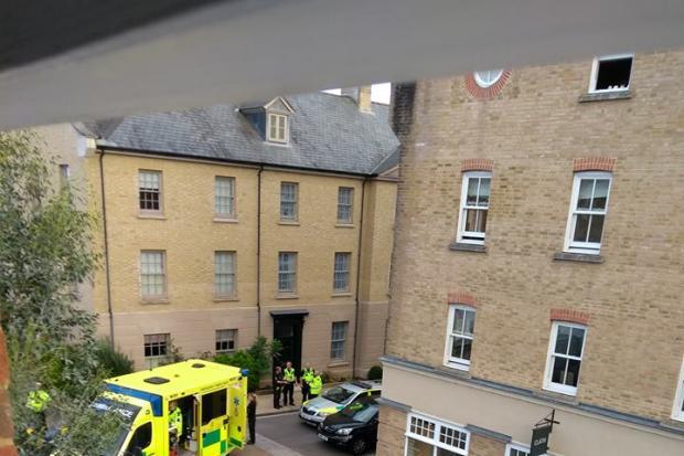 Motorcyclist dies in hospital after crash between van and motorbike at Poundbury