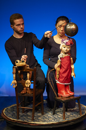 Norwich Puppet Theatre - The Frog & The Princess