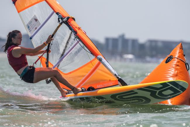 READY TO GO: Islay Watson is set to compete in the Youth Olympic Games Picture: JEN EDNEY/WORLD SAILING