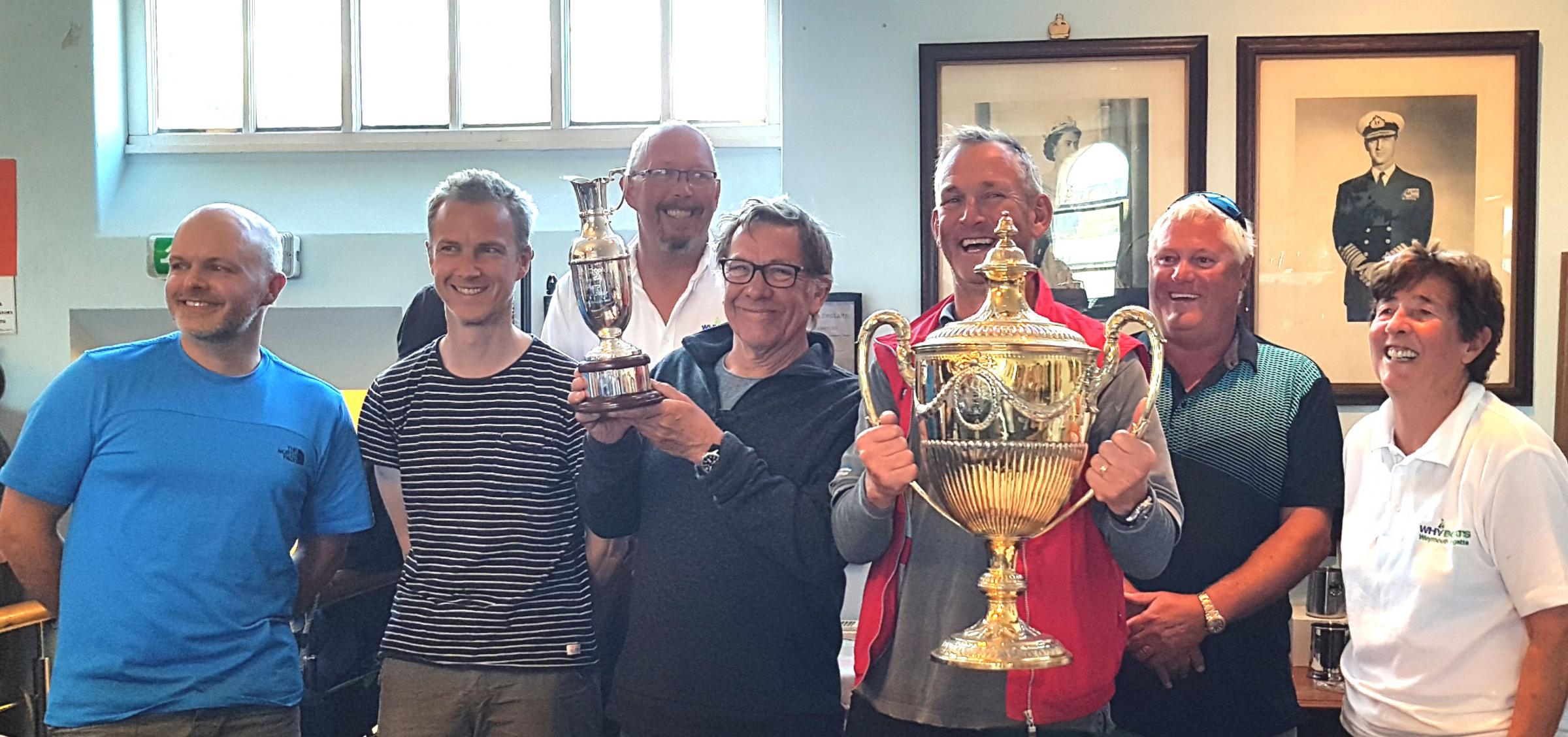 COMPETITION: Weymouth Sailing Club hosted the annual Whyboats YCW Weymouth Regatta