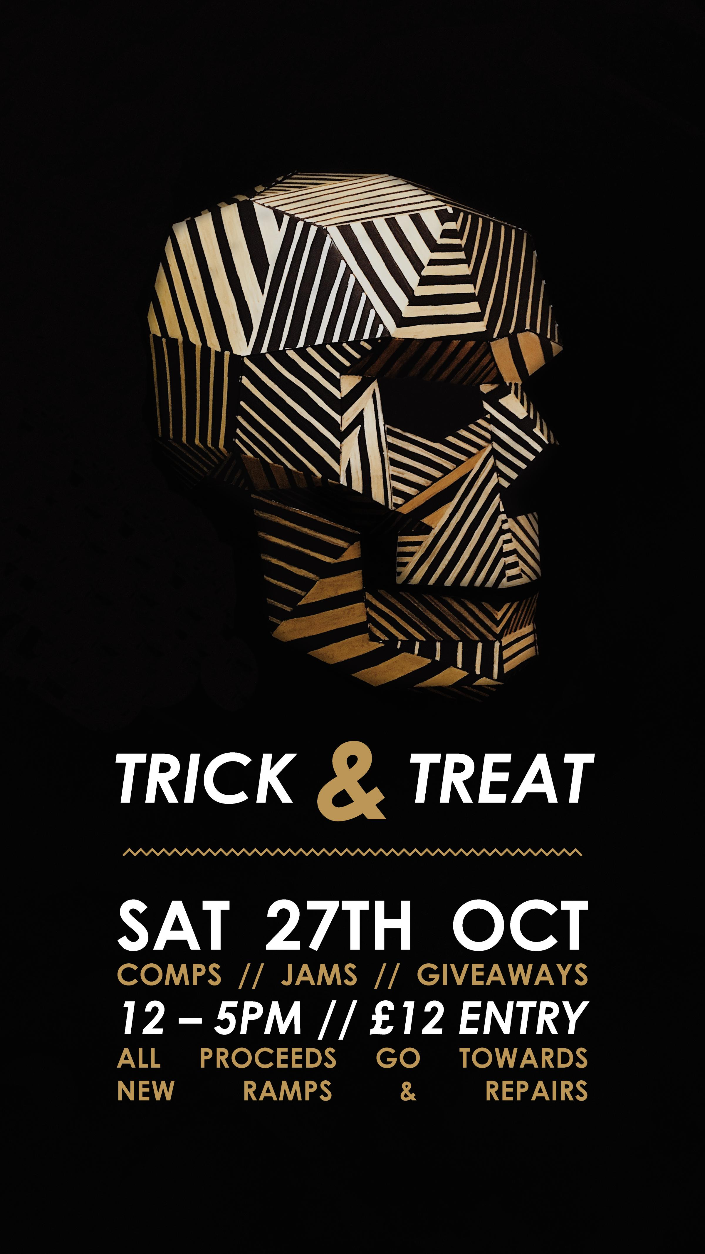 TRICK & TREAT @ THE FRONT SKATEPARK