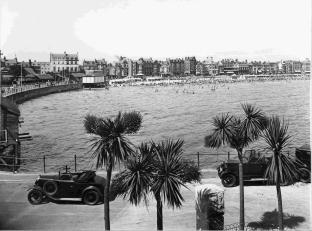 LOOKING BACK: The Esplanade and beach in August 1933