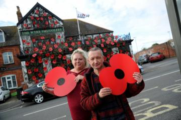 Pub raises thousands of pounds for The Poppy Appeal with tremendous effort