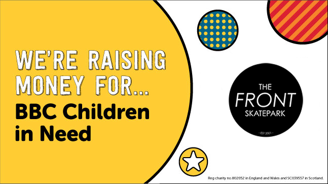 Children in Need Fundraiser @ The Front Skatepark